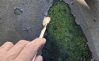 塗装の剥がれ・浮き
