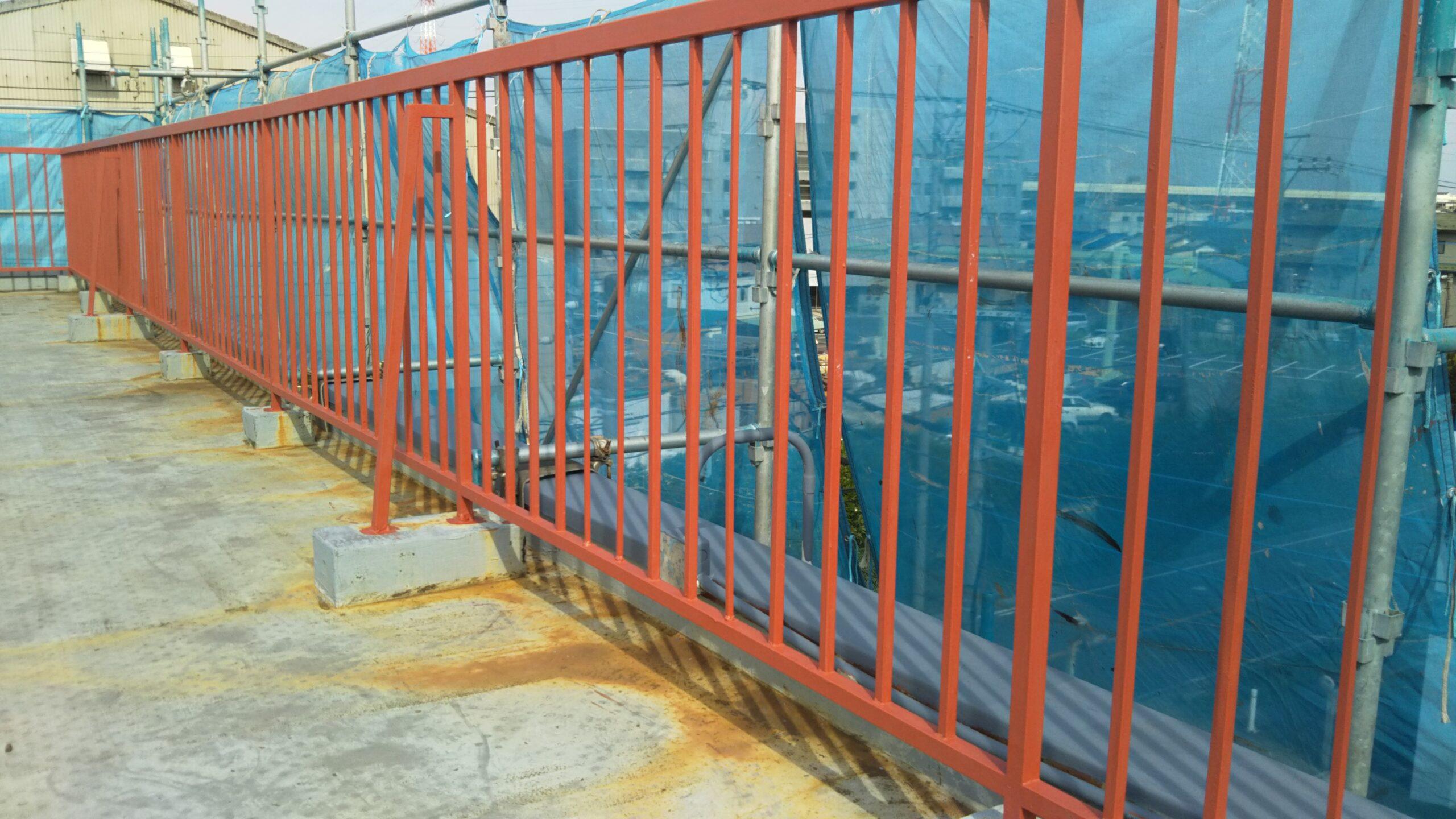 埼玉県さいたま市 外壁及び鉄部塗装 埼玉県さいたま市見沼区の某工場にて塗り替えリフォーム中