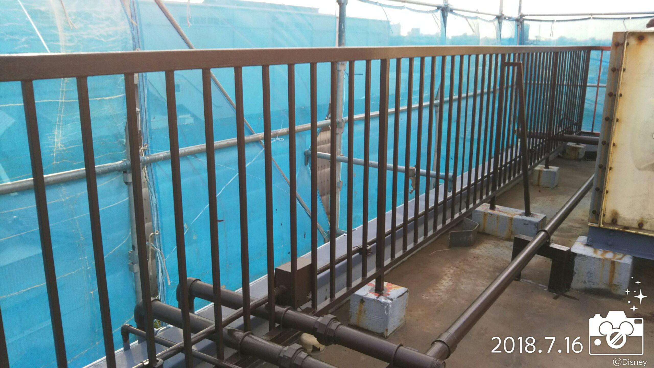 埼玉県さいたま市桜区のT様邸、さいたま市見沼区工場 部分塗装養生、鉄部仕上げ塗装