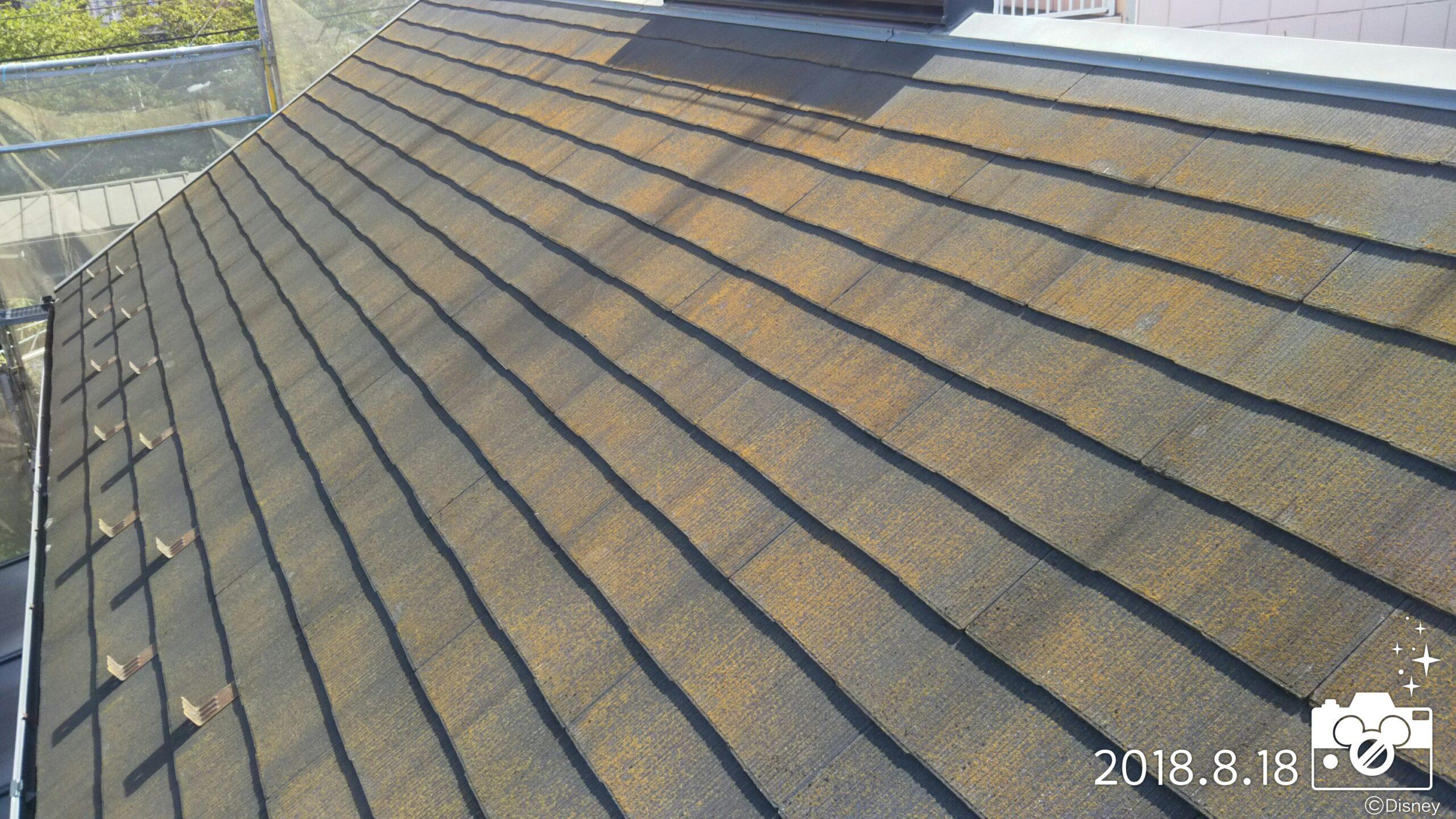 埼玉県さいたま市 外壁・屋根の洗浄作業とコーキングの撤去・養生作業|さいたま市桜区のI様邸にて塗り替えリフォーム中