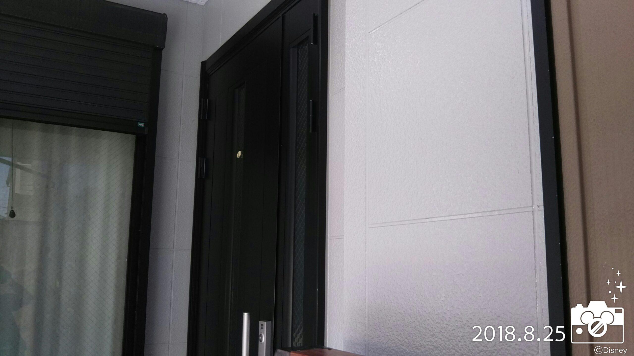 埼玉県さいたま市 外壁の洗浄、別の現場にての鉄部塗装|さいたま市中央区のF様邸・さいたま市南区のT様邸にて塗り替えリフォーム中