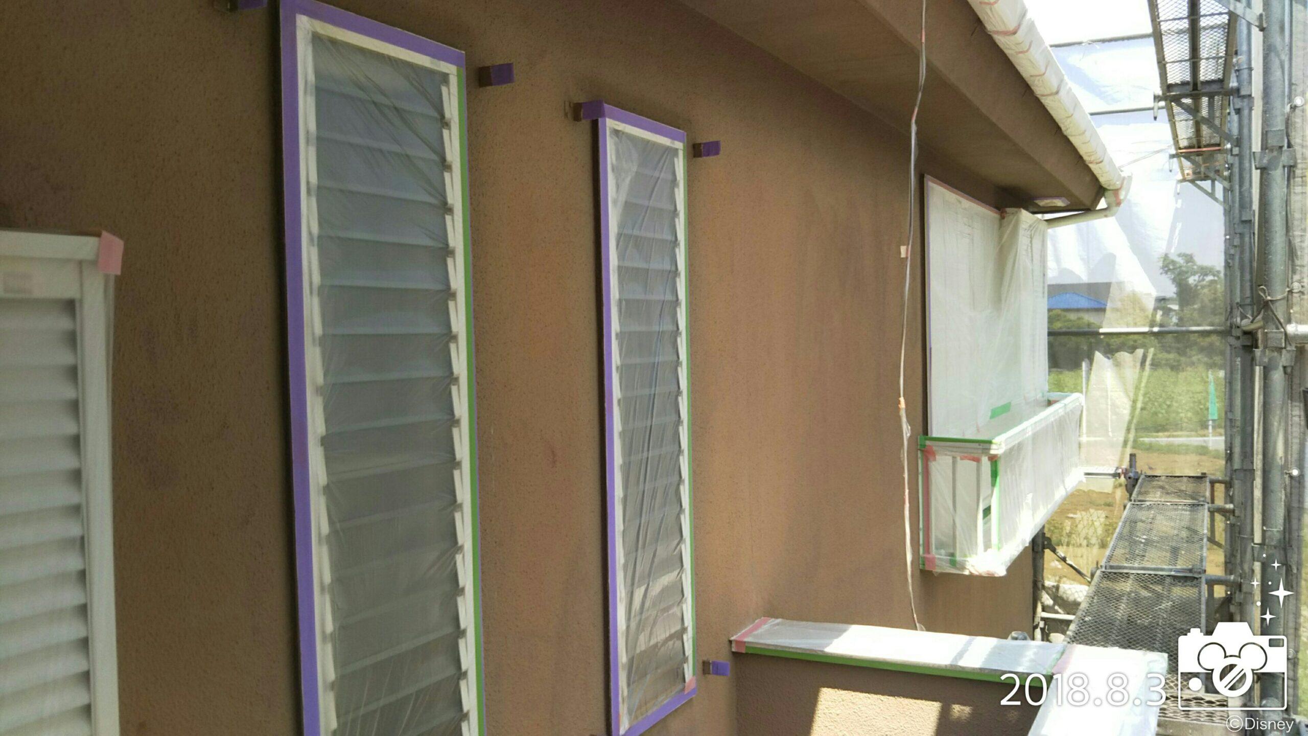 埼玉県さいたま市 外壁塗り替え塗装 さいたま市岩槻区のA様邸にて塗り替えリフォーム中