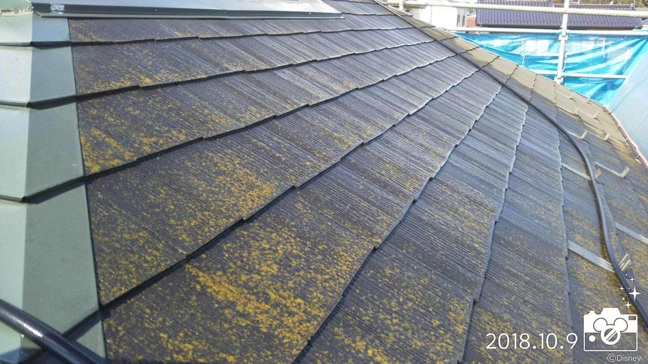埼玉県さいたま市 屋根・外壁塗り替え塗装の為、高圧洗浄|さいたま市岩槻区の木造2階建てのM様邸にて塗り替えリフォーム中