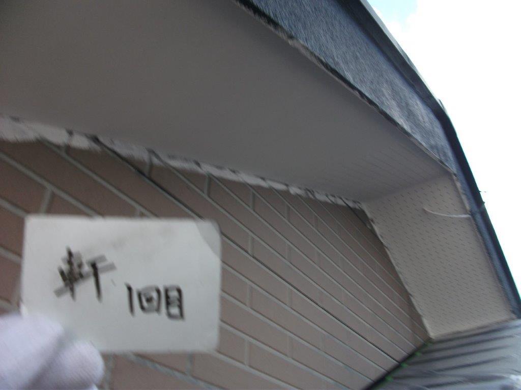 埼玉県さいたま市西区のW様邸(木造2階建て)にて外壁の高圧洗浄と養生作業