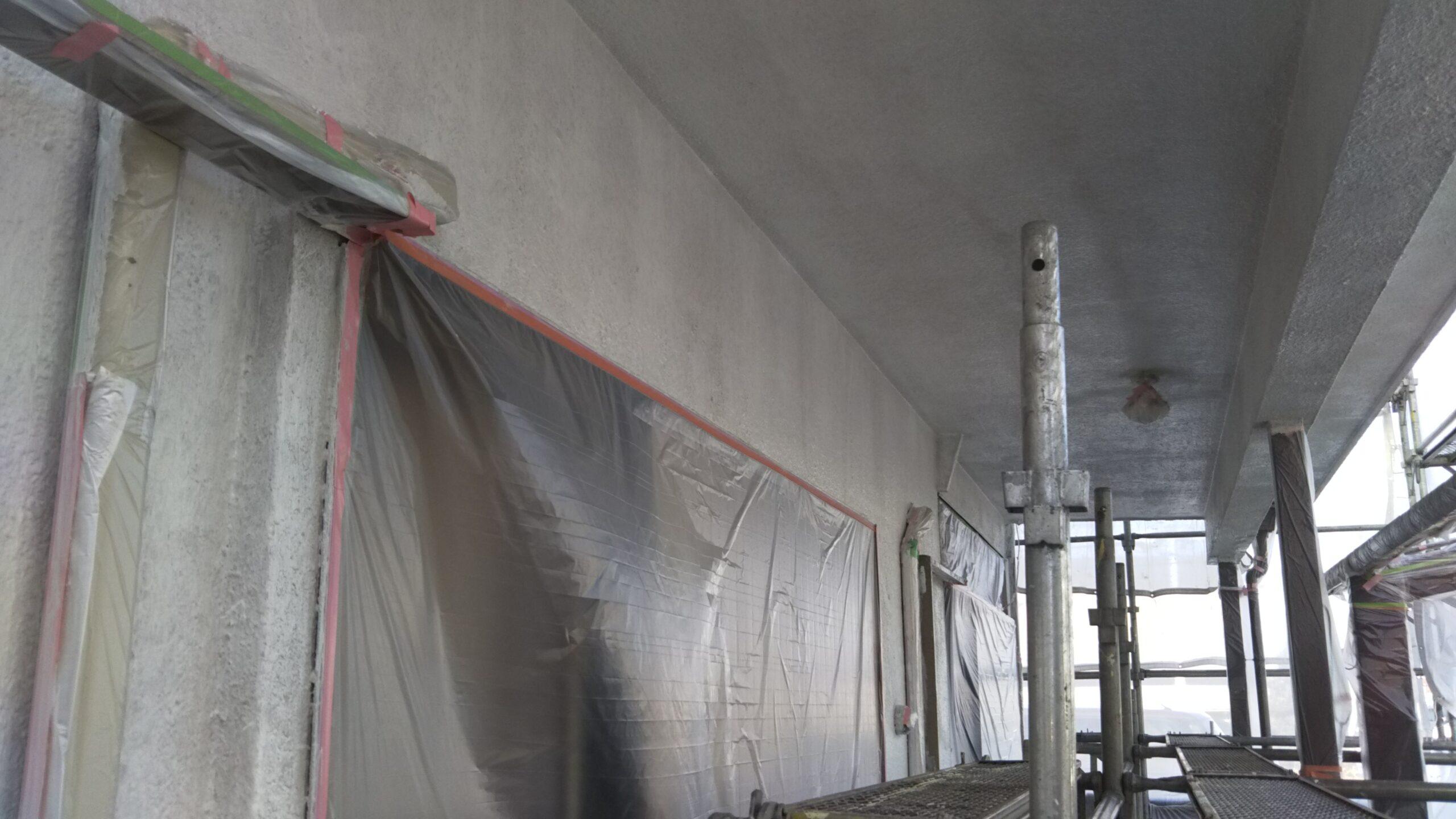 埼玉県さいたま市岩槻区のN様邸(木造2階建て)にて軒樋・外壁の塗装工事