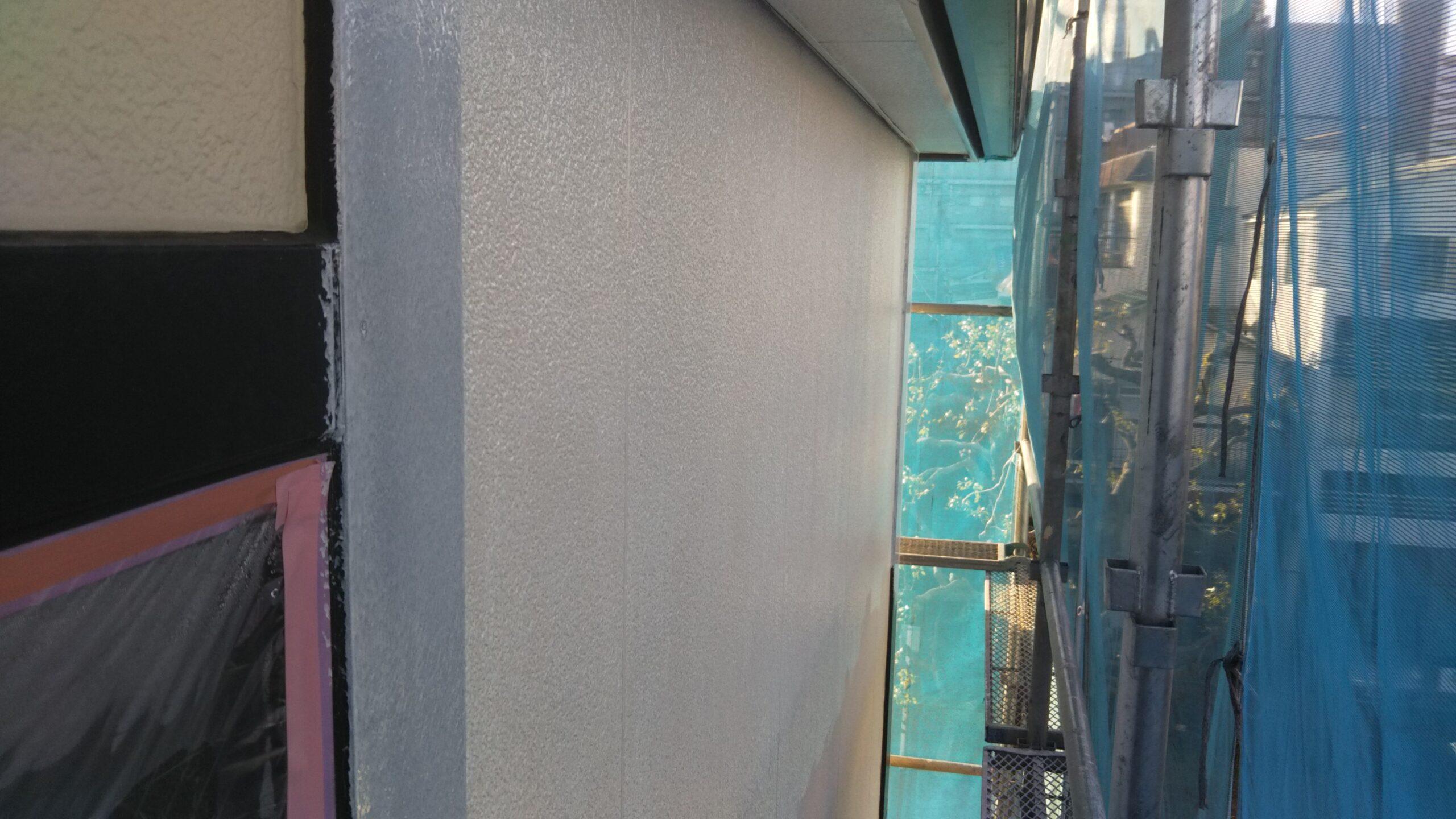 埼玉県さいたま市中央区のI様邸(木造3階建て)にて外壁塗装前の養生