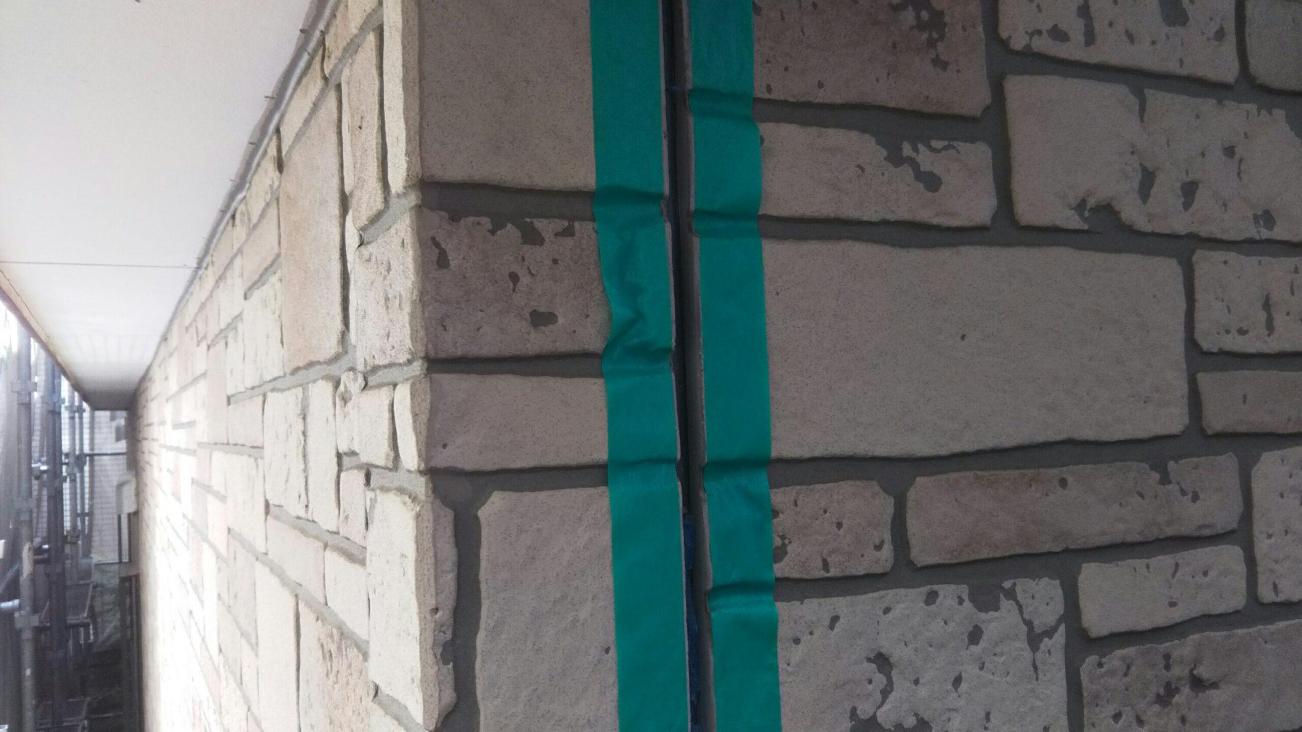 埼玉県さいたま市桜区のM様邸にて外壁のコーキング打ち替え