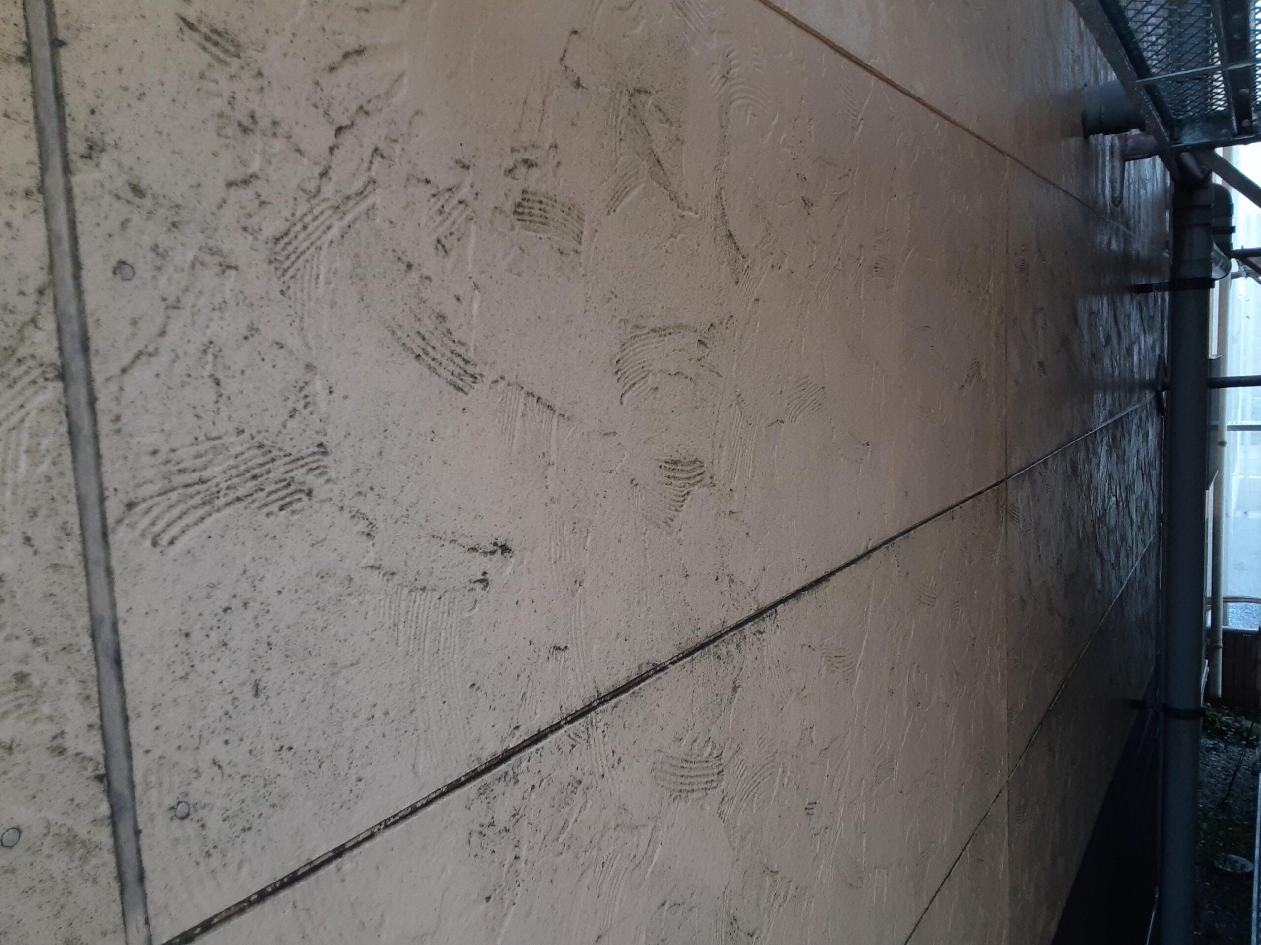 埼玉県さいたま市桜区のA様邸(木造3階建て)にて屋根・外壁の高圧洗浄