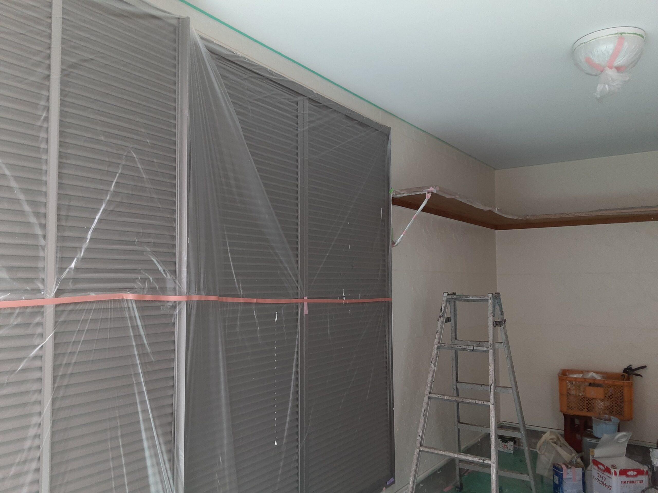 埼玉県さいたま市桜区のA様邸(木造3階建て)にて外壁の仕上げ塗装
