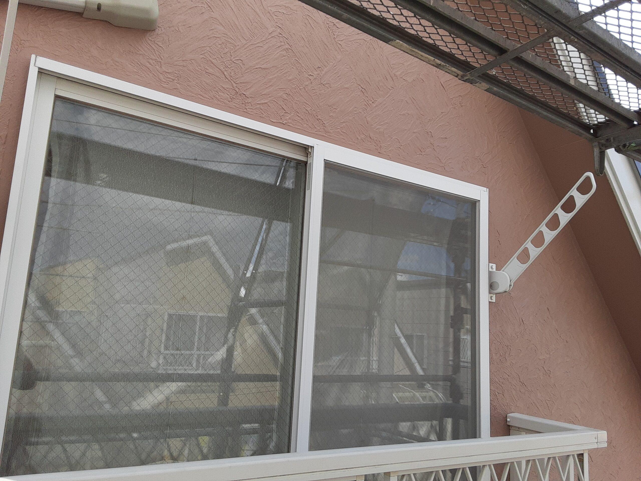 埼玉県さいたま市桜区の(木造3階建て)W様邸にて外壁の仕上げ塗装