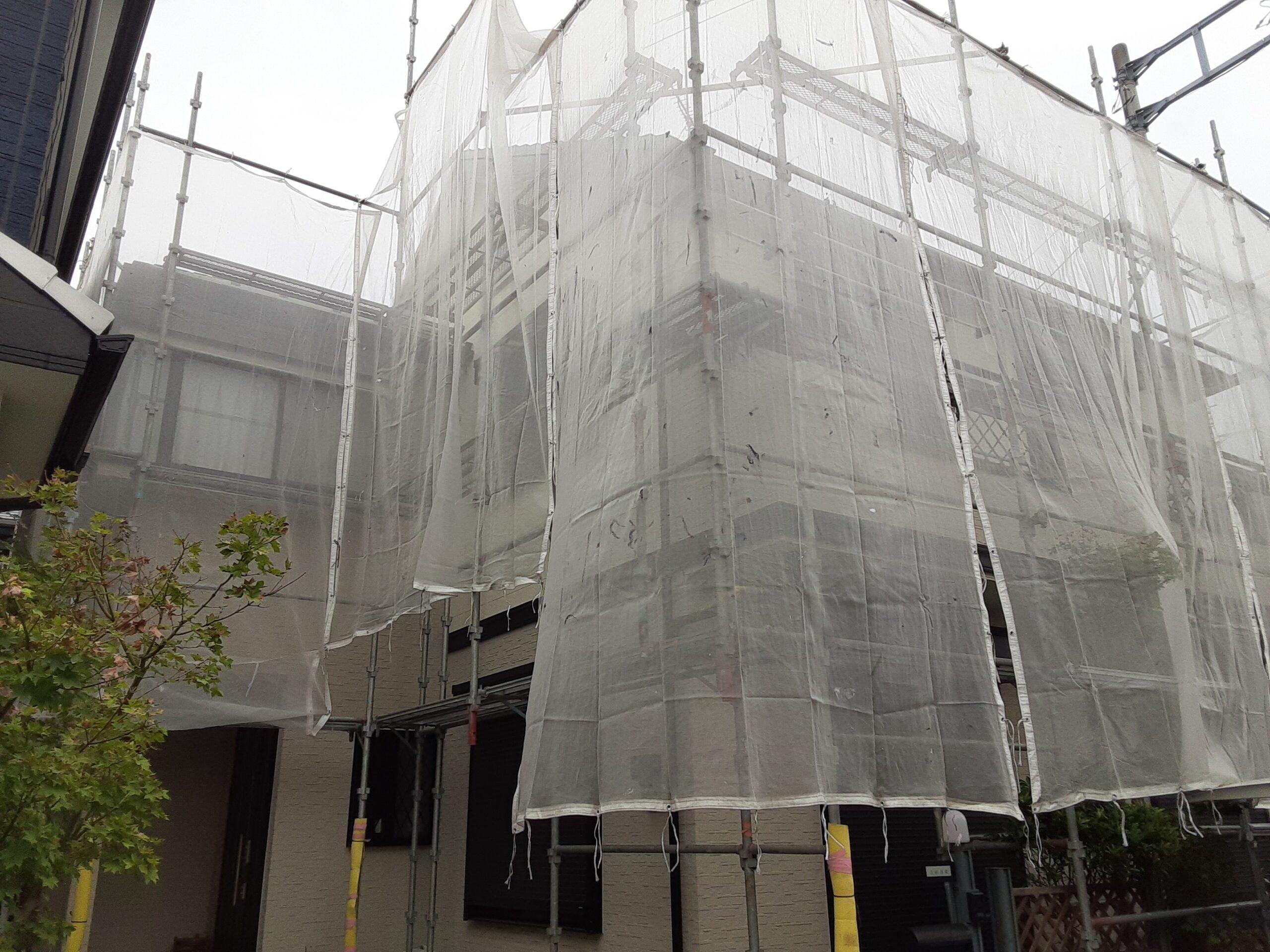埼玉県さいたま市 屋根、外壁の高圧洗浄/さいたま市桜区の(木造2階建て)W様邸にて塗り替えリホーム