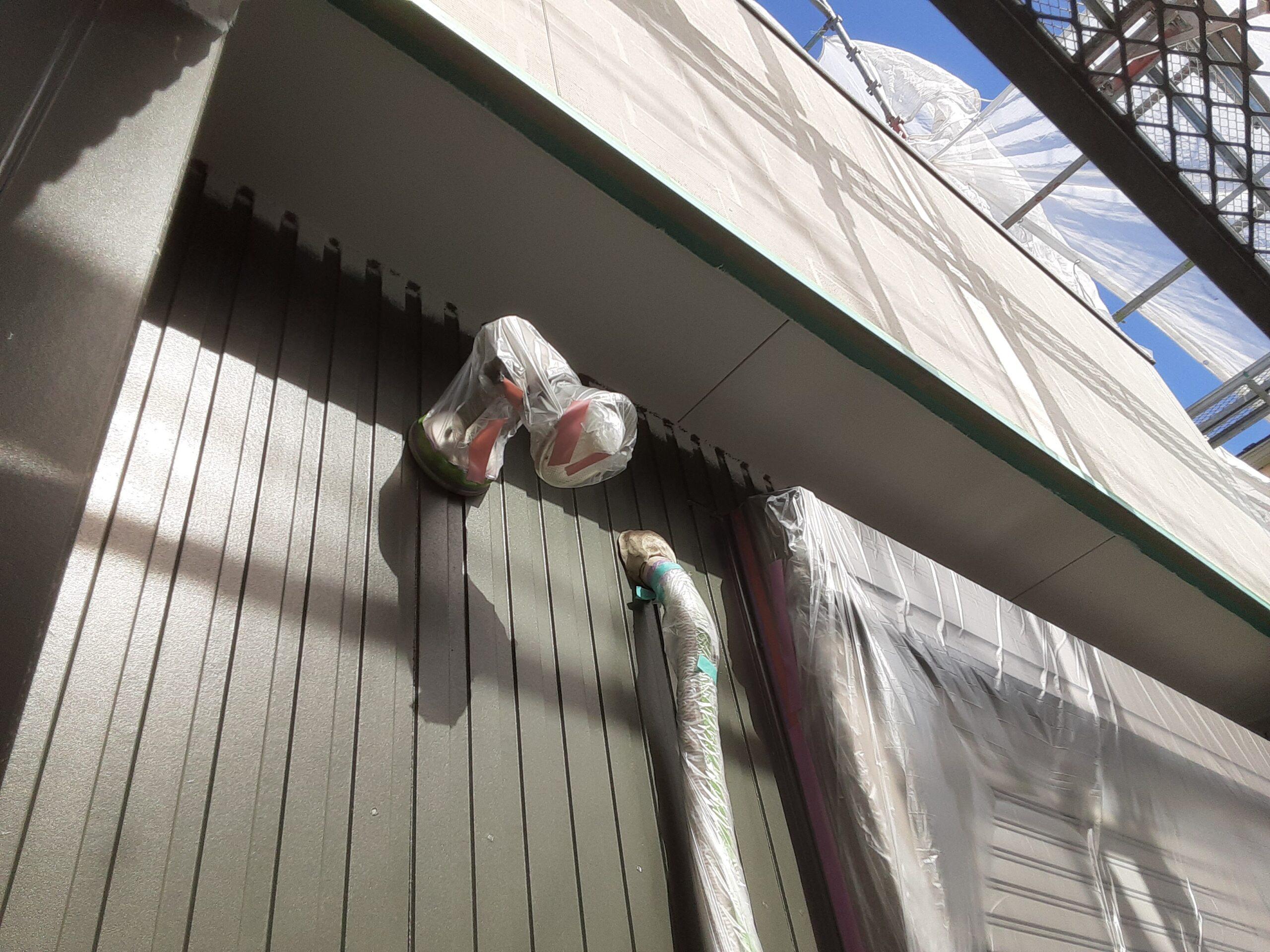 木部、鉄部の塗装/さいたま市南区の(木造2階建て)Y様邸にて塗り替えリホーム中