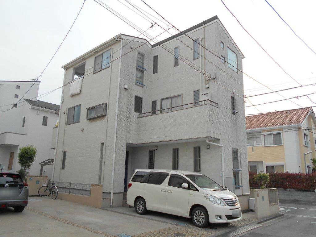 埼玉県さいたま市 屋根、外壁の塗装/さいたま市緑区の(木造2階建て)S様邸にて塗り替えリホーム中