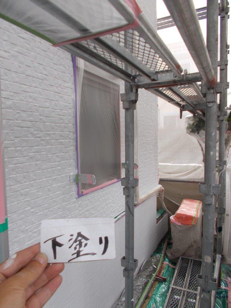 埼玉県さいたま市 屋根の下塗り塗装/さいたま市緑区の(木造2階建て)K様邸にて塗り替えリホーム中