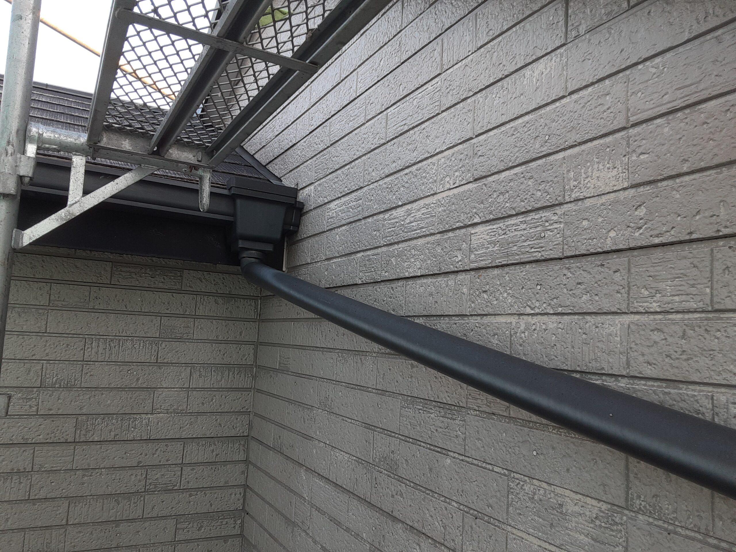 埼玉県さいたま市 屋根、外壁の高圧洗浄/さいたま市岩槻区の(木造2階建て)K様邸にて塗り替えリホーム中