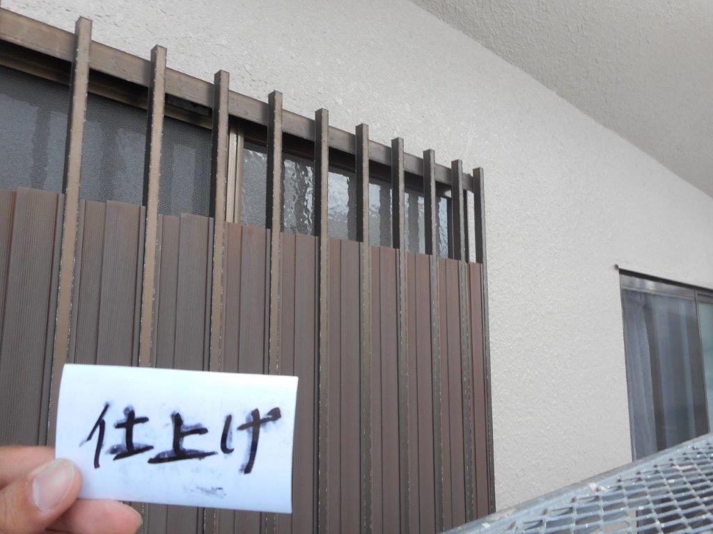 外壁塗装の養生、外壁、屋根の塗装/さいたま市西区の(木造2階建て)N様邸にて塗り替えリホーム中