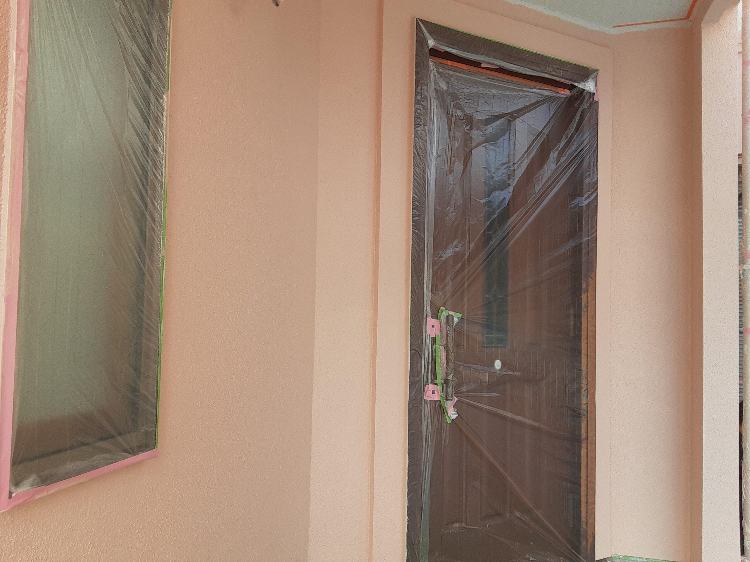 外壁仕上げ塗装/さいたま市大宮区の(木造2階建て)W様邸にて塗り替えリホーム中