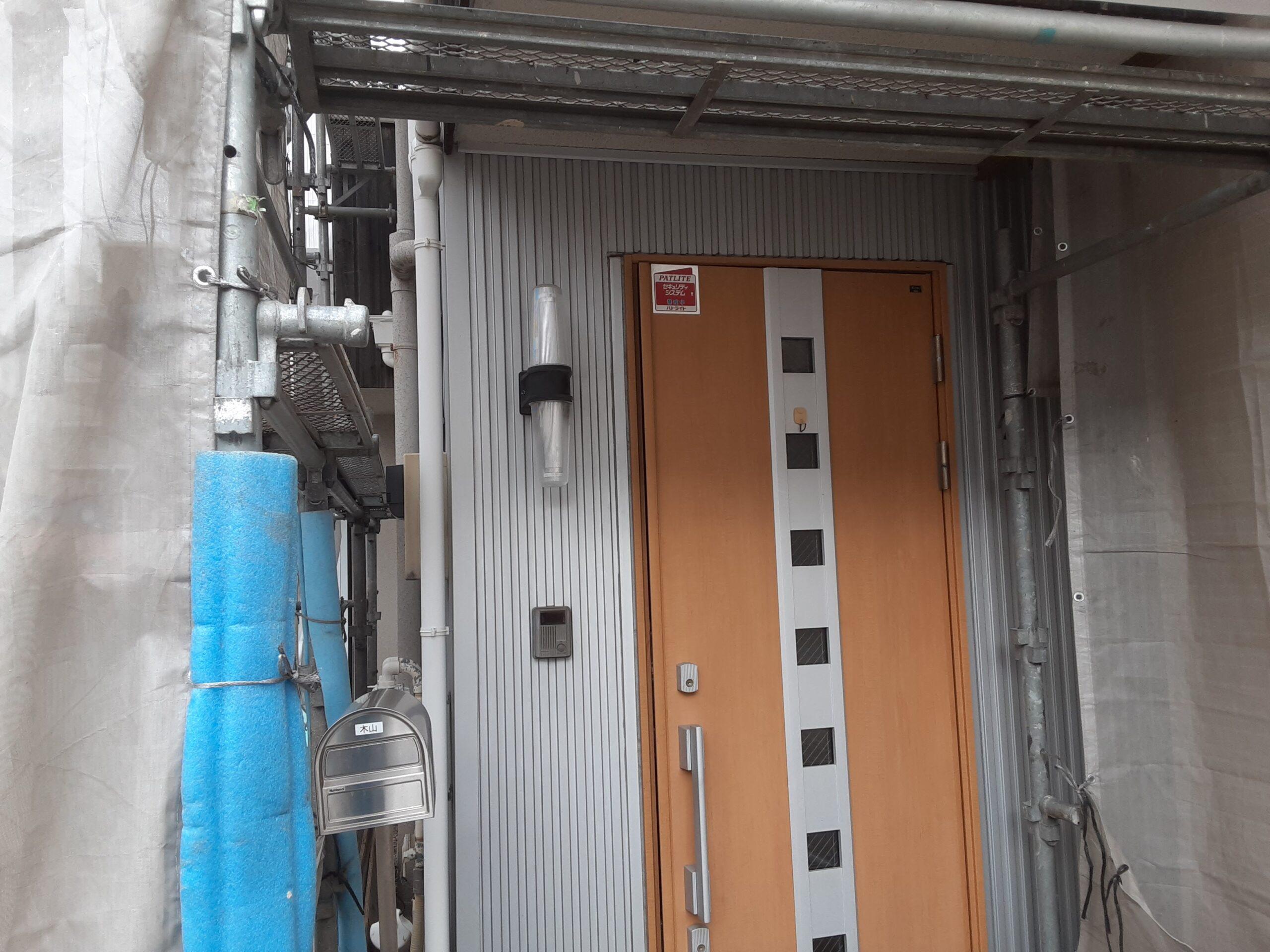 埼玉県さいたま市中央区のK様邸(木造2階建て)にて外壁の高圧洗浄