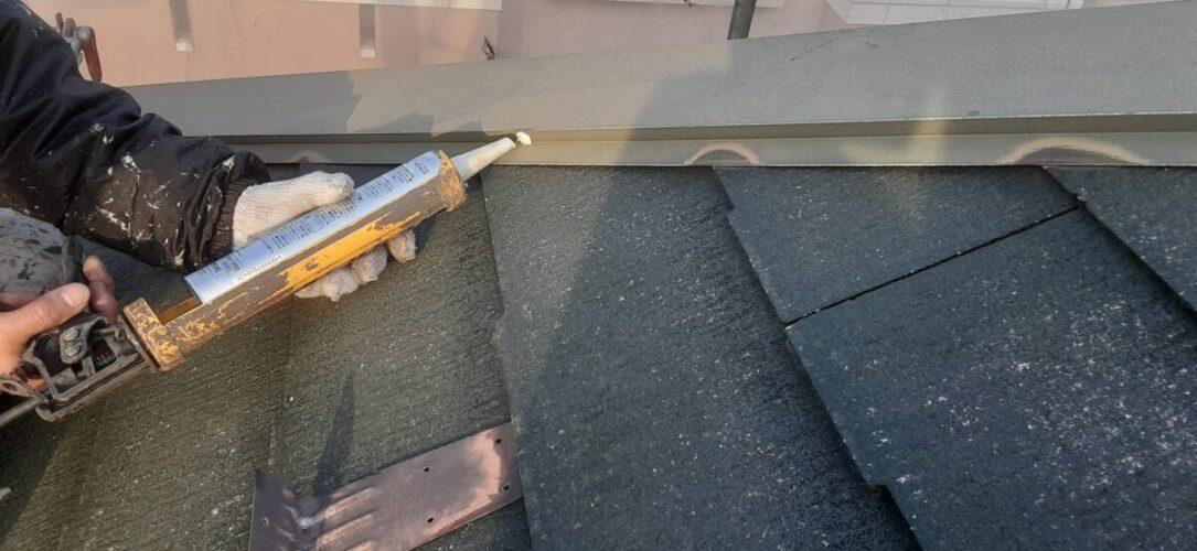 屋根板金工事の画像