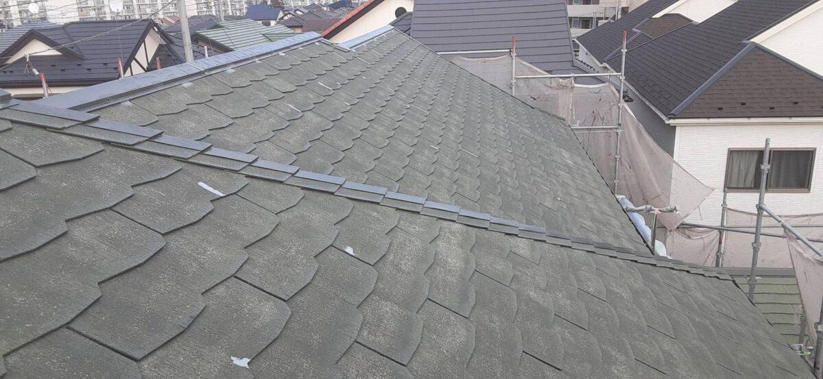 補修後の屋根