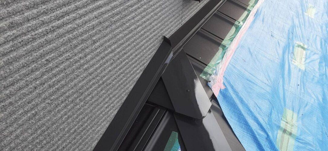 屋根板金塗装の画像