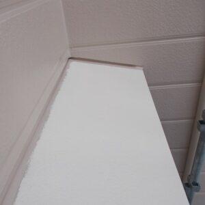 埼玉県越谷市 屋根塗装 外壁塗装 付帯部 出窓の屋根 ベランダの手すり (2)