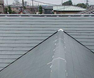 埼玉県越谷市 屋根塗装 外壁塗装 屋根下塗り 日本ペイント ファイン浸透シーラー透明 (3)
