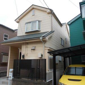 埼玉県越谷市 屋根塗装 外壁塗装 施工前の状態 外壁と屋根の劣化症状