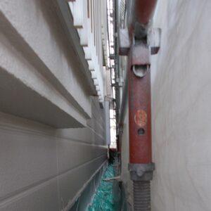 埼玉県越谷市 屋根塗装 外壁塗装 上塗り 日本ペイント ラジカル制御型塗料 パーフェクトトップ (1)