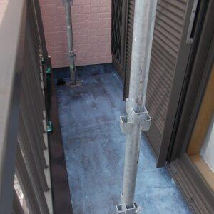 埼玉県さいたま市緑区 S様邸 屋根塗装・外壁塗装・付帯部塗装・防水工事 ベランダ防水工事 FRP防水 (1)