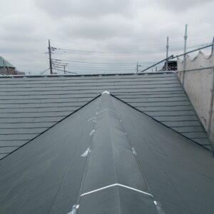 埼玉県越谷市 屋根塗装 外壁塗装 棟板金コーキング 棟板金の釘が抜けるとどうなるか (4)