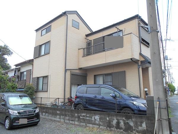 埼玉県さいたま市緑区 S様邸 屋根塗装・外壁塗装・付帯部塗装・防水工事 現地調査 無料見積り (2)