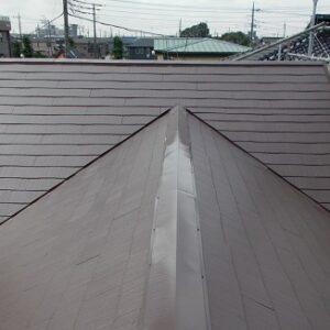 埼玉県越谷市 屋根塗装 外壁塗装 屋根中塗り・上塗り 塗料とペンキの違い (4)
