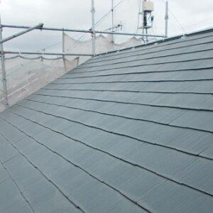 埼玉県越谷市 屋根塗装 外壁塗装 屋根下塗り 日本ペイント ファイン浸透シーラー透明 (1)