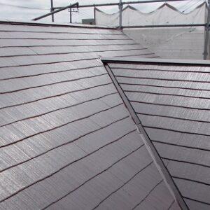 埼玉県越谷市 屋根塗装 外壁塗装 屋根中塗り・上塗り 塗料とペンキの違い (5)