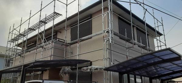 埼玉県さいたま市見沼区 F様邸 屋根塗装・外壁塗装 高圧洗浄 下地処理はなぜ必要なのか (2)