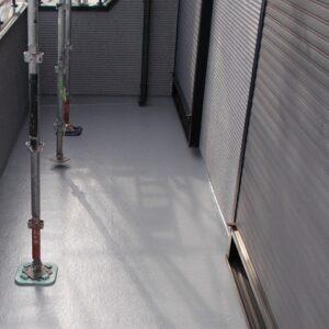 埼玉県上尾市 E様邸 外壁塗装・付帯部塗装 ベランダ防水 トップコート塗り替え (1)