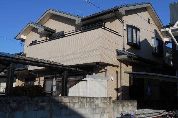 埼玉県上尾市 E様邸 外壁塗装・付帯部塗装・コーキング工事 (8)