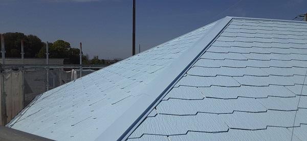 埼玉県さいたま市見沼区 F様邸 屋根塗装・外壁塗装 屋根塗装の工程 縁切りとは (1)