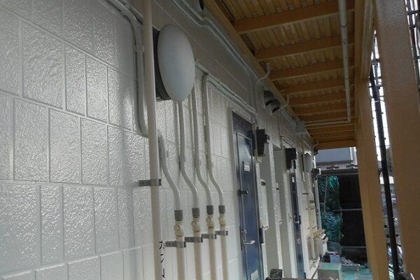 埼玉県さいたま市岩槻区 アパート 屋根塗装・外壁塗装・付帯部塗装 (8)