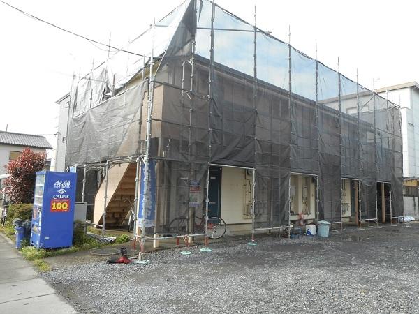 埼玉県さいたま市岩槻区 アパート 屋根塗装・外壁塗装・付帯部塗装 (67)