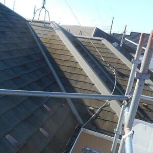 埼玉県さいたま市西区 T様邸 屋根塗装・外壁塗装・付帯部塗装 近隣へのご挨拶 足場の設置 高圧洗浄3 (1)