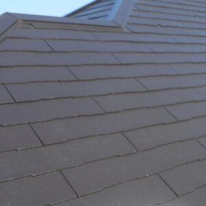 埼玉県さいたま市西区 T様邸 屋根塗装・外壁塗装・付帯部塗装 屋根塗装 日本ペイントパーフェクトトップ コーヒーブラウン