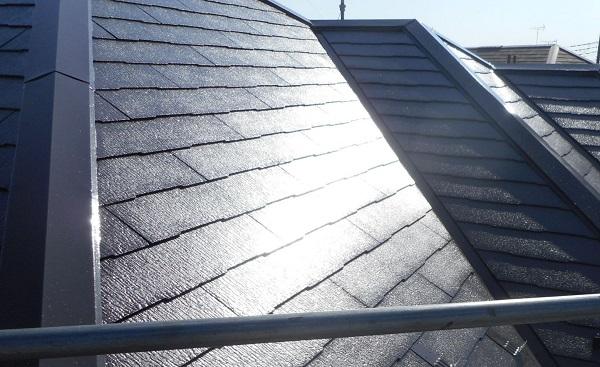 埼玉県さいたま市西区 T様邸 屋根塗装・外壁塗装・付帯部塗装 屋根塗装 日本ペイントパーフェクトトップ コーヒーブラウン1
