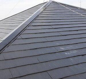 埼玉県さいたま市北区 F様邸 屋根塗装・外壁塗装 外壁の養生 外壁・屋根下塗り (2)