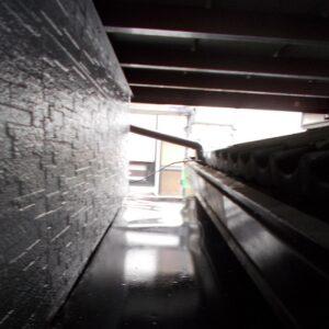 埼玉県さいたま市桜区 Y様邸 屋根塗装・外壁塗装・付帯部塗装 出窓屋根、換気カバー、 シャッターボックス、シャッター塗装 (9)