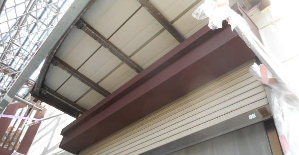 埼玉県さいたま市岩槻区 アパート 屋根塗装・外壁塗装・付帯部塗装 (14)
