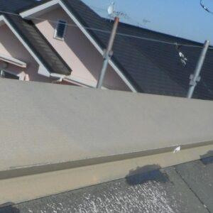 埼玉県さいたま市西区 T様邸 屋根塗装・外壁塗装・付帯部塗装 屋根劣化補修 クラック 棟板金ビス補強1