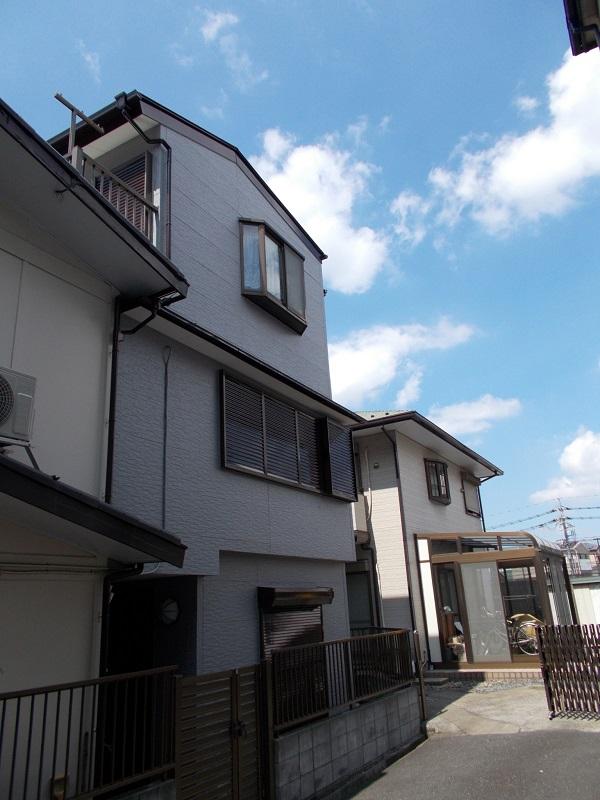 埼玉県さいたま市桜区 Y様邸 屋根塗装・外壁塗装・付帯部塗装 出窓屋根、換気カバー、 シャッターボックス、シャッター塗装 (6)