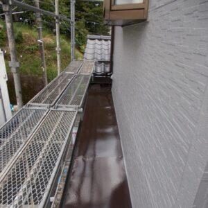 埼玉県さいたま市桜区 Y様邸 屋根塗装・外壁塗装・付帯部塗装 出窓屋根、換気カバー、 シャッターボックス、シャッター塗装 (11)
